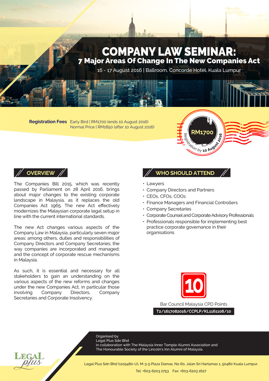 company law fansiyao Executive programme company law in view of increasing emphasis on adherence to norms of good corporate governance, company law assumes an added importance in the corporate legislative.
